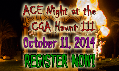 2014 ACE Day Night at the Haunt III – FLIER AVAILABLE (9/30/2014)