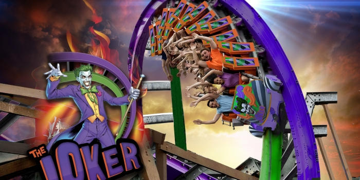 Thrilling New Hybrid Coaster, The Joker, Coming to Six Flags Discovery Kingdom in 2016! (9/3/2015)
