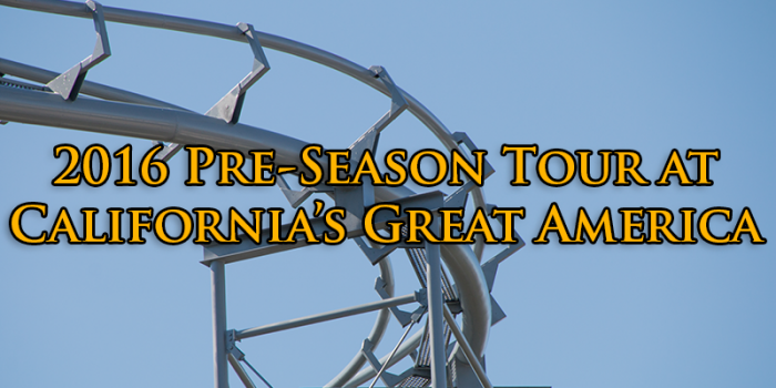 Great America outlines new attractions during our 2016 pre-season tour
