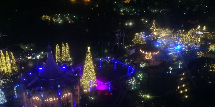 WinterFest lights up the night at Great America