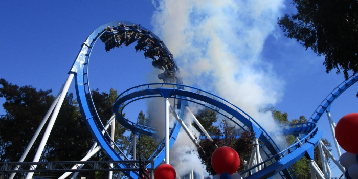 Patriot opens at Great America with much fanfare