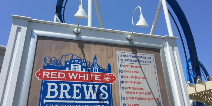 Red, White & Brews launches at Great America