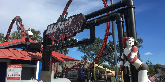 Six Flags Discovery Kingdom: Harley Quinn Crazy Coaster opens, Batman on the way