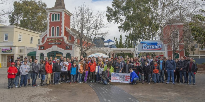 ACE tours Great America, honors Spirit Award recipients
